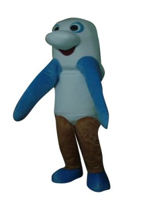 Sea Monster Mascot Costume