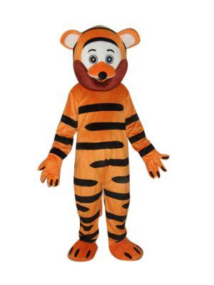 Smile Tiger Mascot Costume