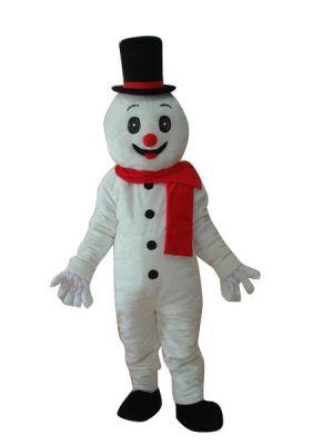 Snowman Clothing Mascot Costume