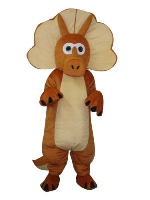 Triceratops Dinosaur Dragon Mascot Costume