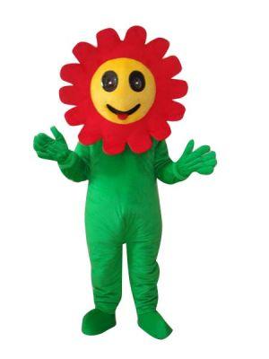 Sunflower Fairy Elves Mascot Costume