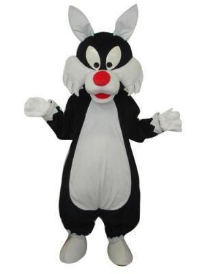 Sylvester Cat Mascot Costume
