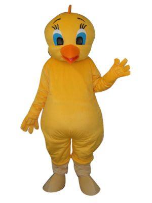 Yellow Tweety Bird Mascot Costume