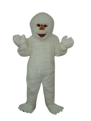 Yeti Snowman Mascot Costume