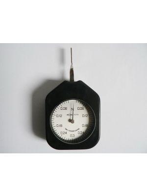 Dial Tension Gauge Force Meter Single Pointer 0.3 N