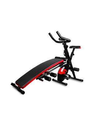 Multi Functional Home Fitness Machine- AB Glider and Exercise Bench