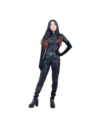 X-men Rogue Cosplay Costume Halloween Clothing