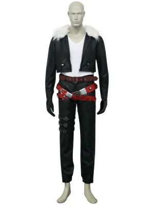 Final Fantasy VIII Squall Leonhart Cosplay Costume L