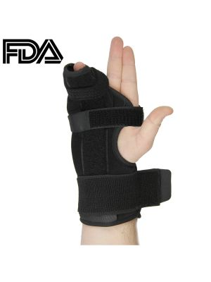 Metacarpal Boxer Splint- Right Hand Brace, FDA Approved, Small, by U.S. Solid