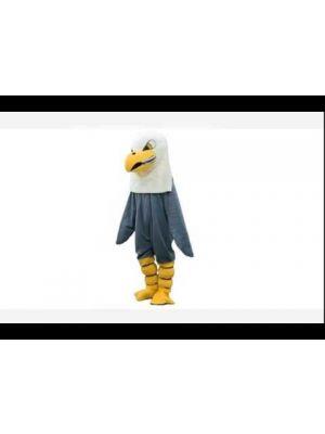 Dark Brown Eagle Mascot Costume