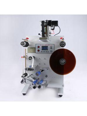 SL-130  Round Bottle Labeling Machine With Date Printer Coding Machine