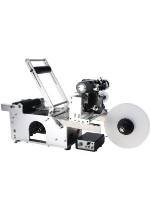 Automatic Round Bottle Labeling Machine Labeler With Code Printer