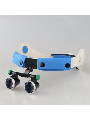 2.5x Binocular Galileo Head Band Loupe Magnifier Glasses