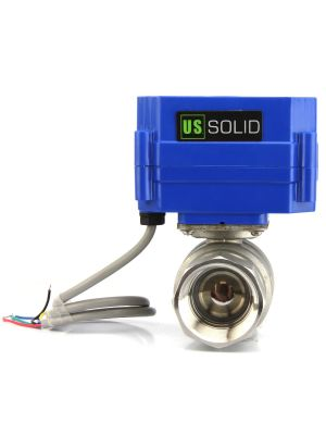 U.S. Solid Motorized Ball Valve- 1