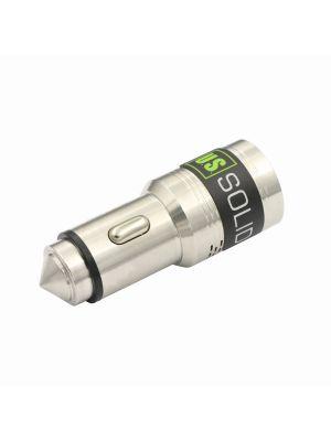 Dual USB Port Car Charger and Carbon Monoxide Detector