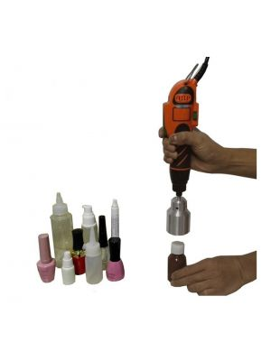 Handheld Bottle Capping Machine Electric Screw Capper W/ Customize Mold