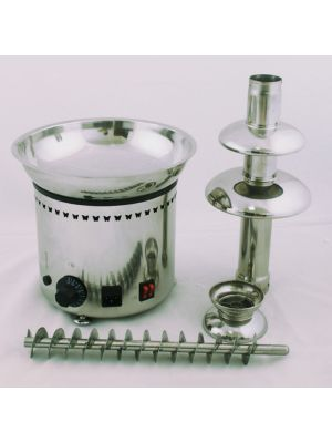 4 Tier Stainless Steel Home Party Hotel Commercial Chocolate Fountain CE 23