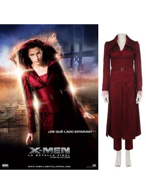 X-Men Dark Phoenix Marvel Girl Jean Grey Cosplay Costume Marvel Movie