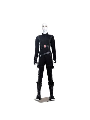 Captain America Black Widow Cosplay Costume Hallowen Clothing