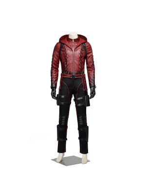 Green Arrow Season 3  Red Roy Harper Cosplay Costume
