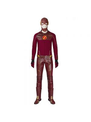 Whole Set Upgraded Version of the Flash Cosplay Costume