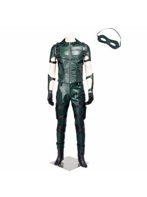 Green Arrow Season 4 Oliver Queen Cosplay Costume Marvel TV