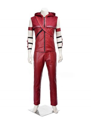 Green Arrow Season 4 Red Arrow Roy Harper Cosplay Costume