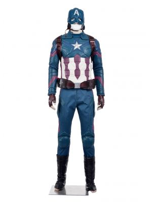 New Captain America 3 Steve Rogers Cosplay Costume