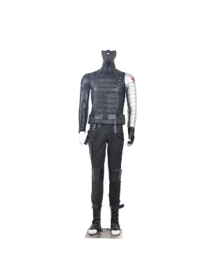Winter Soldier Cosplay Costume from Captain America 2