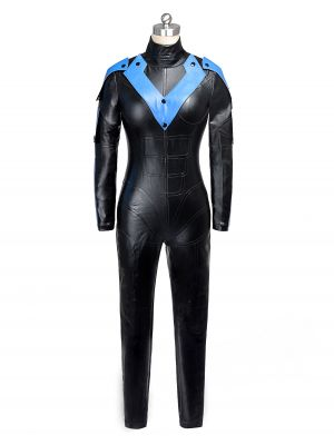 Women's Batman Young Justice Nightwing Cosplay Costume