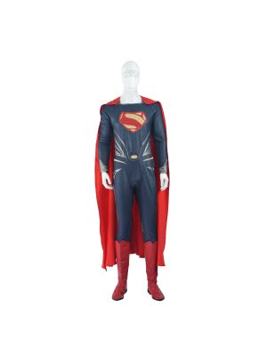 Batman v Superman Dawn of Justice Clark Kent Superman Cosplay Costume