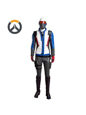 Full Set Overwatch Soldier 76 Uniform Cosplay Costume Customized