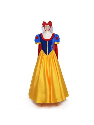 Snow White Princess Cosplay Dress Halloween Costume