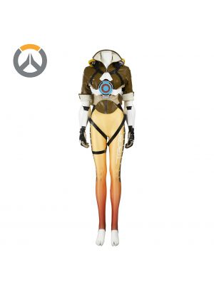 Overwatch Tracer Lena Oxton Uniform Cosplay Costume Full Set
