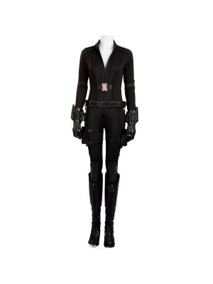 Black Widow cosplay Costume Captain America 3 Halloween Costumes