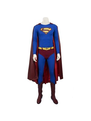Superman Returns Cosplay Costume XS W/ Boots