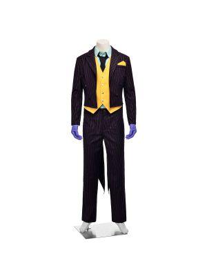 Batman Arkham City Joker Cosplay Costume Full Set
