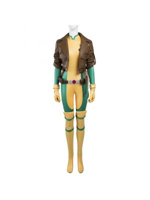 X-Men Rogue Cosplay Costume Anna Marie Comic Version