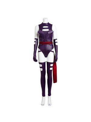 X-Men Apocalypse Psylocke Elizabeth Betsy Braddock Cosplay Costume