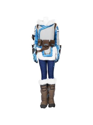 Overwatch Mei Cosplay Costume Customized Halloween Clothing