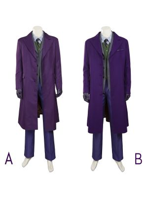 Batman Joker Cosplay Costume The Dark Knight Rise Halloween Costumes
