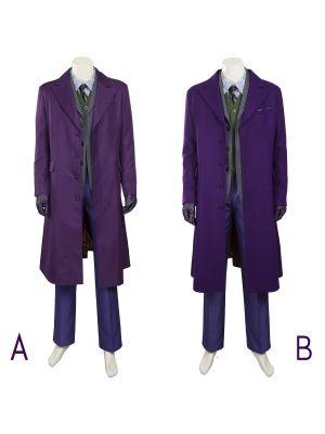 Batman Joker Cosplay Costume The Dark Knight Rise Halloween Costumes