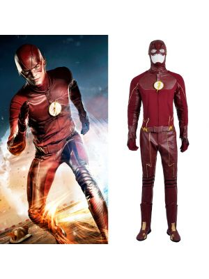 The Flash 2 Barry Allen Cosplay Costume