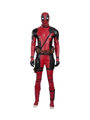 X-men Wade Wilson Deadpool Cosplay Costume Full Set