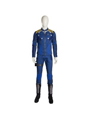 Star Trek Beyond Captain James T Kirk Cosplay Costume