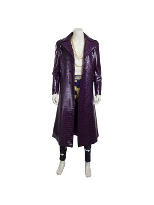 New Suicide Squad Jared Leto Joker Cosplay Costume