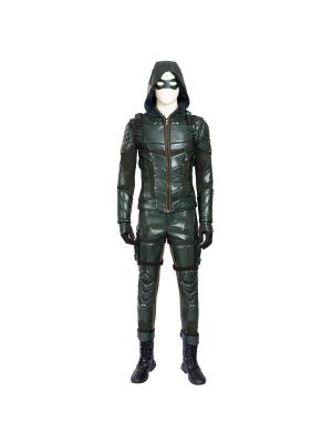 New Green Arrow 5 Costume Oliver Queen Cosplay Costume