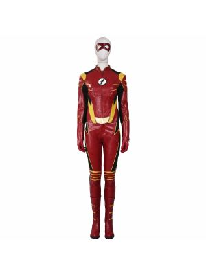 The Flash 3 Jesse Quick Cosplay Costume Full Set