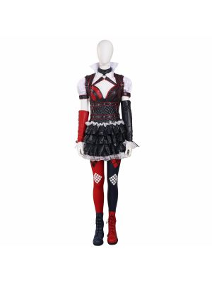 Batman: Arkham Knight Harley Quinn Cosplay Costume Whole Set