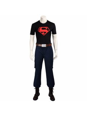 Young Justice League Superboy Conner Kent Cosplay Costume